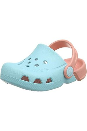 Crocs Unisex Kids' Electro Clogs, (Ice /Melon 4jf)