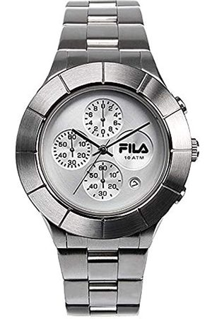 Fila Unisex Adult Analogue Quartz Watch with Stainless Steel Strap 38-006-001