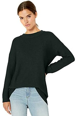 Daily Ritual Wool Blend Baksetweave Crewneck Sweater Pullover