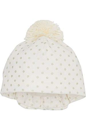 Sterntaler Baby Girls' Beanie Hat, - (Ecru 903)