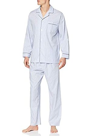 Brooks Brothers Men's Pj Og Bclth STP Bl Pyjama Set, 400