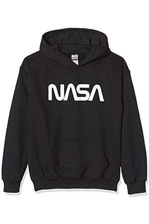 Brands In Limited Boys NASA Modern Logo Sweatshirt