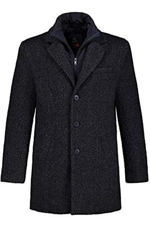 JP 1880 Men's Big & Tall Wool Coat Denim XXX-Large 723369 92-3XL