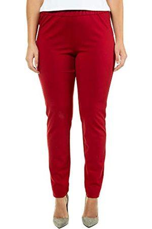 Ulla Popken Women's Jerseyhose Sienna, Rundum-Gummibund, Selection Trousers