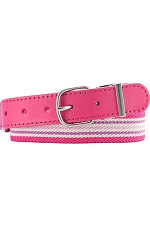 Playshoes Girls' Elastik-Gürtel Ringel Belt