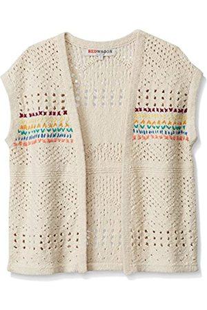RED WAGON Girl's Crochet Knit Sleeveless Cardigan