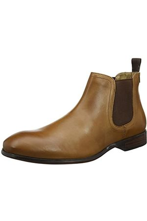 Red Tape Mens Beeston Tan Formal Boot, (Tan)