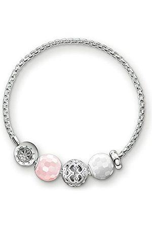 Thomas Sabo Women-Bracelet Hearts Karma Beads 925 Sterling silver KT0013-675-7-L20