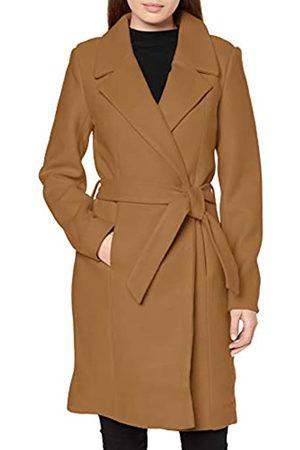 Only Women's Onlregina Wool Coat Cc OTW, Camel