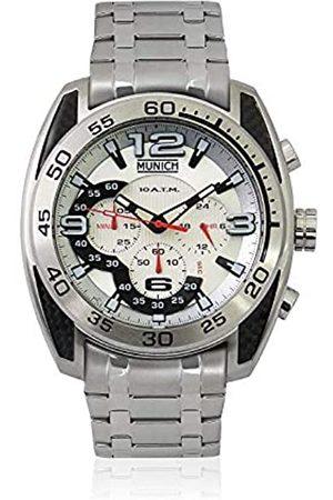 Munich Unisex Adult Analogue Quartz Watch with Stainless Steel Strap MU+135.1B