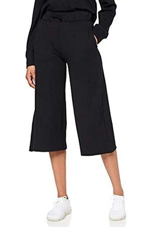 AURIQUE Amazon Brand - Women's Cropped Super Soft Sports Trousers, 14