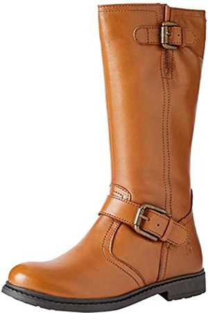 Joules Girls' Darcy High Boots, (Tan Tan)