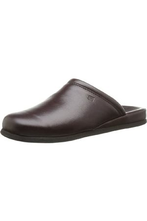 Rohde 6616, Men's Cold-fed slippers, (48 Weinrot)