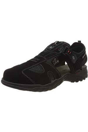 Dockers by Gerli Men's 36li013-200100 Closed Toe Sandals, (Schwarz 100)