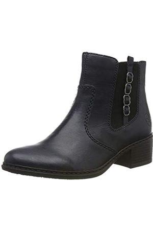 Rieker Women's Herbst/Winter Chelsea Boots, (Navy / 14 14)