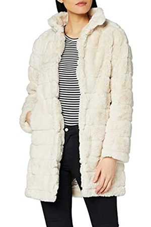 Dorothy Perkins Women's Long Line Pelted Coat