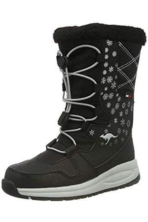 KangaROOS Unisex Kids' K-Glaze RTX Snow Boots, (Jet / 5002)