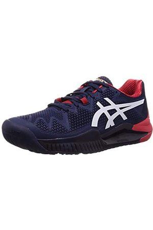 ASICS Men's Gel-resolution 8 Tennis Shoe, (Peacoat/ )