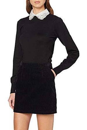 Dorothy Perkins Women's Embellished Pearl Collar 2-in-1 Jumper