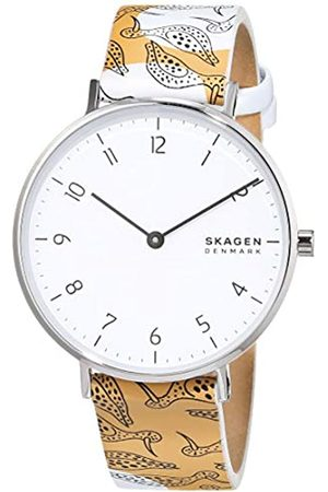 Skagen Womens Analogue Quartz Watch with Leather Strap SKW2780