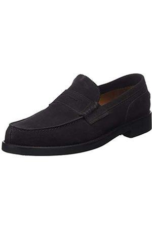 Lottusse Men's L6903 Loafers, (Buckster Moka)