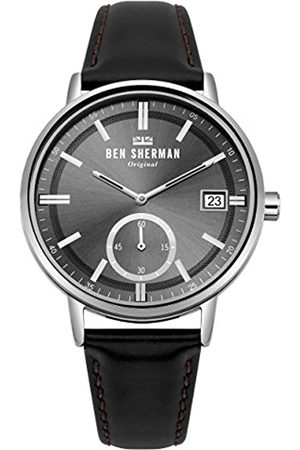 Ben Sherman Mens Analogue Classic Quartz Watch with Leather Strap WB071BB
