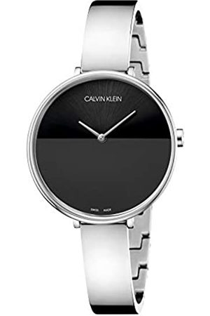 Calvin Klein Unisex Adult Analogue-Digital Quartz Watch with Stainless Steel Strap K7A23141