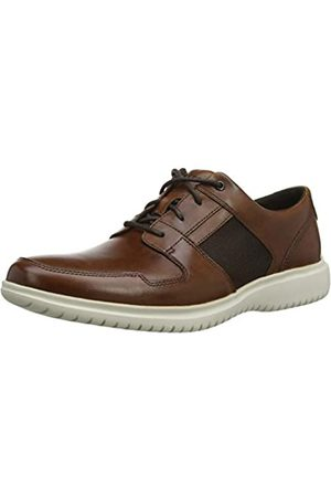 Rockport Men's Dressport 2 Fast Mudguard Shoe Oxfords, (Cognac 001)