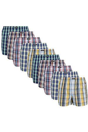 Lower East American Style Boxer Shorts, Große Karos), Medium