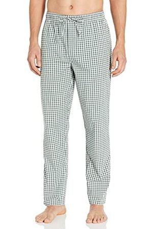 Goodthreads Stretch Poplin Pajama Pant Casual, Navy Gingham