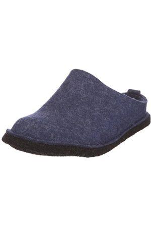 HAFLINGER Flair Soft, Unisex Adults' Open Back Slipper, ( / Jeans)