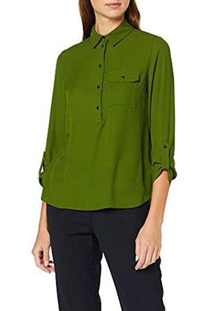 Dorothy Perkins Women's Roll Slv Shirt Regular Fit Shirt