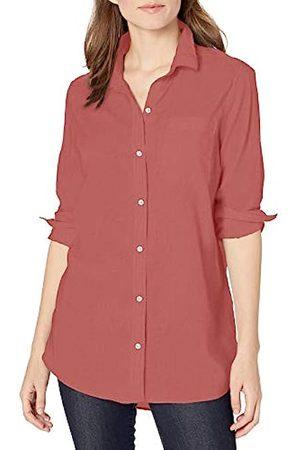 Goodthreads Lightweight Poplin Long-sleeve Boyfriend Shirt Button