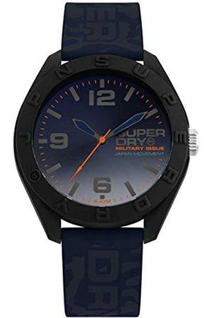 Superdry Mens Analogue Quartz Watch with Silicone Strap SYG242U