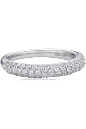 Viventy Women's Ring Choose Me 925 Sterling 61 Zirconia WhiteSize: 52 (16.6) 765041