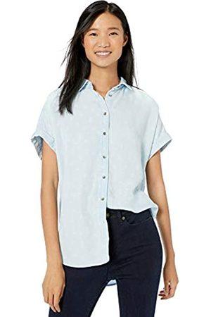 Goodthreads Tencel Short-Sleeve Shirt Discharge Print