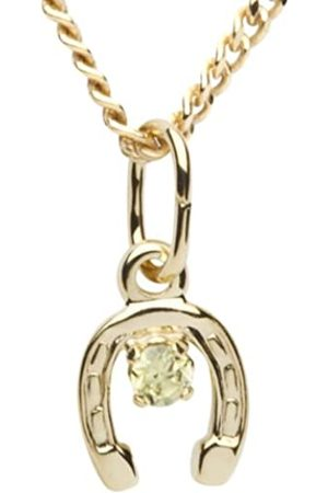 InCollections In Collections Women's Pendant 333/000 Gold with Zirconia 42 cm curb chain Horseshoe 2420100009401