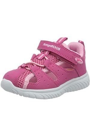 KangaROOS Unisex Babies' Ki-Rock Lite Ev Low-Top Sneakers, (Daisy /Fuchsia 6176)