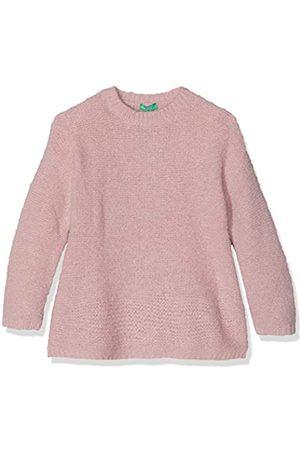 United Colors of Benetton Girl's Indigo G3 Long Sleeve Top