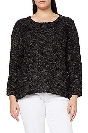 Ulla Popken Women's Pullover, Popcorngarn Sweater