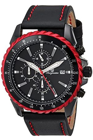 Burgmeister Men's Quartz Watch with Dial Analogue Display and Leather Bracelet BMT02-642
