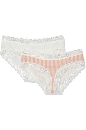 Skiny Women's Sweet Cotton Mix Panty 2er Pack Boy Short