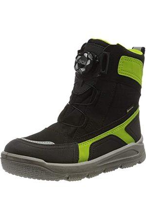 Superfit Mars, Boys'Snow Boots, (Schwarz/Grün 00)