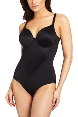 Maidenform Women's Everyday Control-Body Briefer Bodysuit, (Bk W/Bdb)