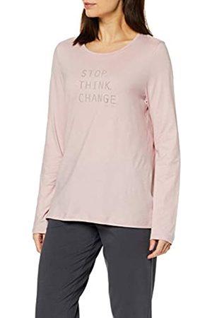 Marc O' Polo Women's Mix W-Shirt LS Crew-Neck Pyjama Top