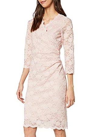 Gina Bacconi Women's Stretch Sequin Scallop Lace Dress