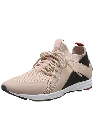 HUGO Women's Hybrid_Runn_knlg Sneaker, (Peach Whip 694)