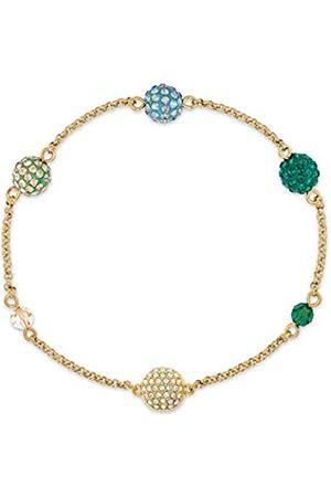Swarovski Women's Green Gold-tone plated Remix Collection Pop Strand 5533846