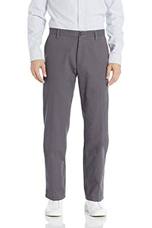 Amazon Classic-fit Wrinkle-resistant Flat-front Chino Pant Casual