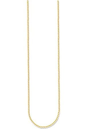 Thomas Sabo KE1106-413-12-L50v Women's Necklace Without Pendant 925 Silver Partially -Plated 50 cm